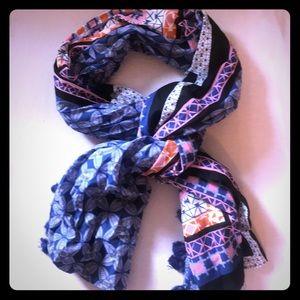 Stella & Dot wrap/scarf with matching bag